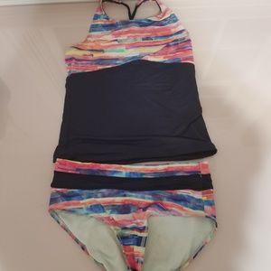 Athleta Girl two piece bathing suit
